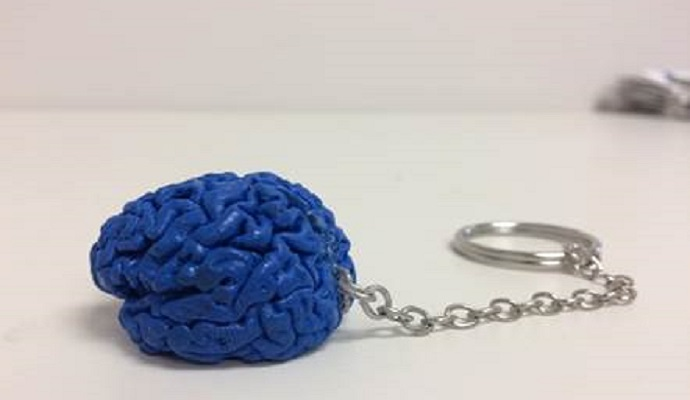 All our Brain3M participants receive 3D- printed keychains at then end of our studies